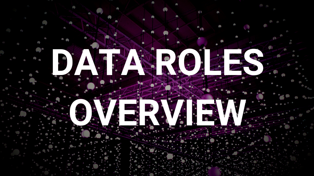 Data Roles Overview